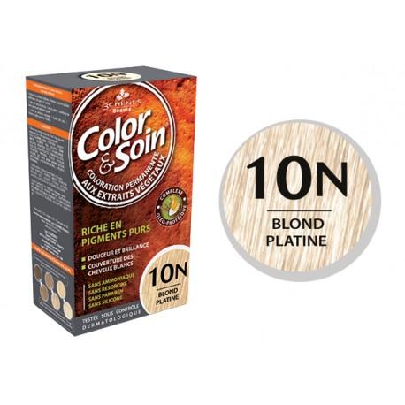 3 Chênes Color & Soin blond platine 10N