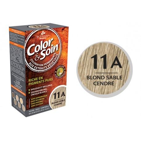 3 Chênes Color & Soin blond sable cendré 11A