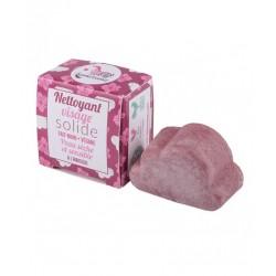 Lamazuna Nettoyant visage solide à l'hibiscus peau sèche 25g