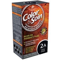 3 Chênes Color & Soin brun azuré 2A
