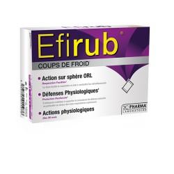 3C Pharma Efirub coups de froids 16 sachets