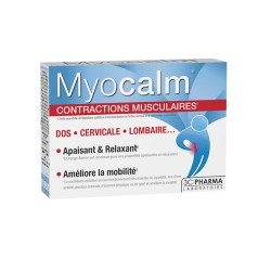3C Pharma Myocalm contractions musculaires 30 comprimés