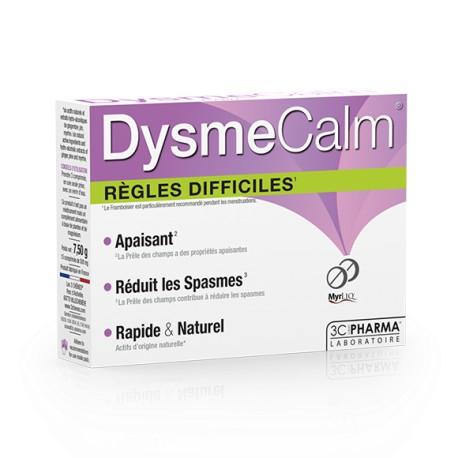 3 Chênes Dysmecalm Règles difficiles 15 comprimés
