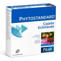 Pileje Phytostandard Cyprès et Echinacée 30 comprimés