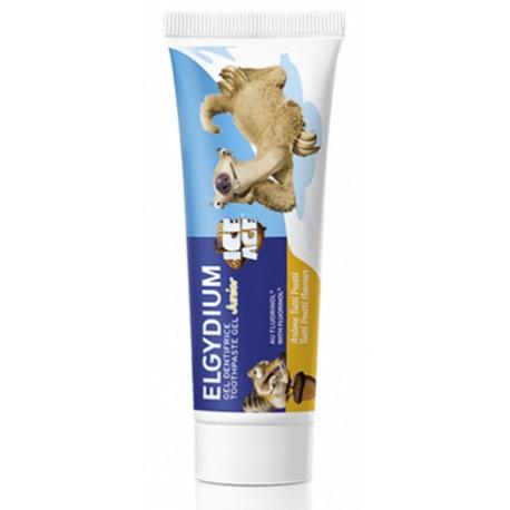 Elgydium Junior Dentifrice L'Âge de Glace goût Tutti Frutti 50ml