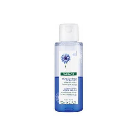 Klorane Bleuet Démaquillant Yeux Waterproof 100ml