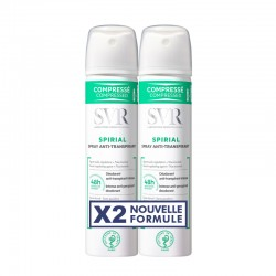 SVR Spirial Spray anti-transpirant intense 48h 2x75ml