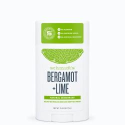Déodorant Schmidt's stick Signature Bergamote Citron vert 58ml