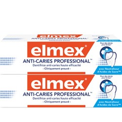 Elmex dentifrice Anti-Caries Professional 2x75ml