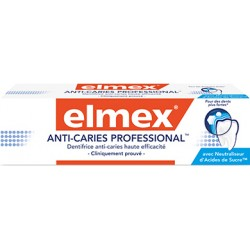 Elmex dentifrice Anti-Caries Professional 75ml