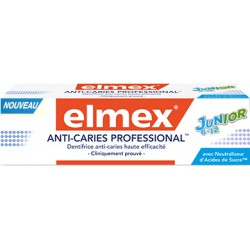 Elmex dentifrice Anti-Caries Professional junior 6-12 ans 75ml