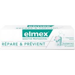 Elmex Dentifrice Sensitive Professional répare & prévient 75 ml