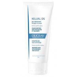Ducray Kelual DS gel moussant visage et corps 200 ml