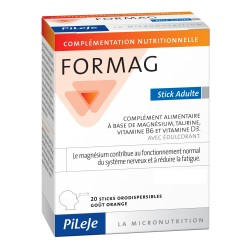 Pileje Formag 20 sticks orodispersibles adultes