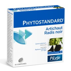 Pileje Phytostandard Artichaut et Radis noir 30 comprimés