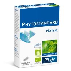 Pileje Phytostandard Mélisse 20 gélules végétales