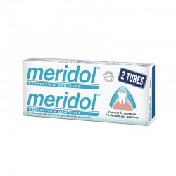 Meridol dentifrice Protection gencives lot 2x75 ml