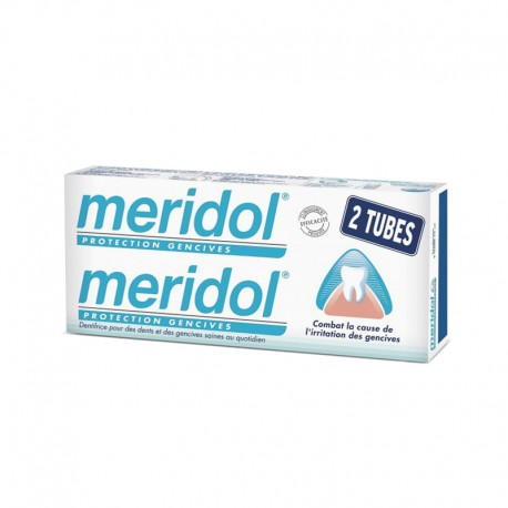 Méridol Dentifrice Protection Gencives Offre Duo 2x75ml
