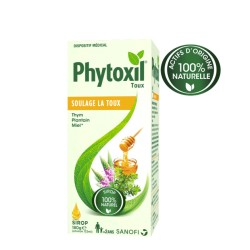 Phytoxil sirop 100% naturel contre la toux 133ml