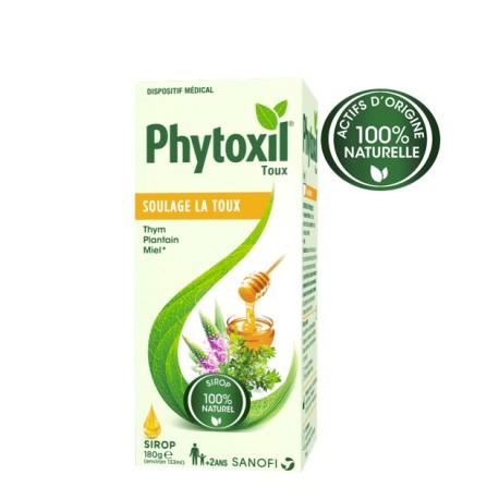 Phytoxil sirop 100% naturel contre la toux 133ml
