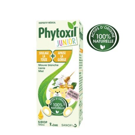 Phytoxil JUnior sirop 100% naturel toux et gorge 100ml