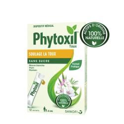 Phytoxil 100% naturel contre la toux 12 sachets