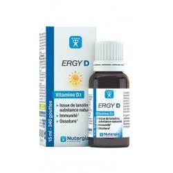 Nutergia Ergy D vitamine D3 Flacon 15 ml
