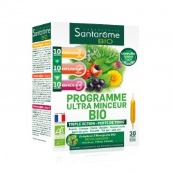 Santarôme Programme Ultra Minceur Bio 30 ampoules