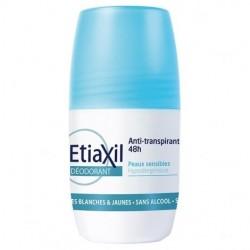 Etiaxil Déodorant anti-transpirant 48h roll-on lot de 2x50 ml