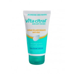 Vita citral soin anti-taches crème éclaircissante anti-âge mains 75 ml