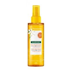 Klorane Polysianes Huile sèche solaire SPF30 spray 200 ml