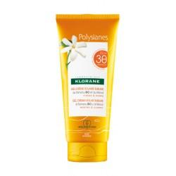 Klorane Polysianes Gel-crème solaire sublime SPF30 200 ml