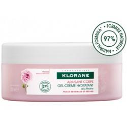 Klorane Apaisant Corps Gel-crème hydratant à la Pivoine 200 ml