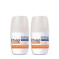 Etiaxil Déodorant douceur 48h roll-on lot de 2x50 ml