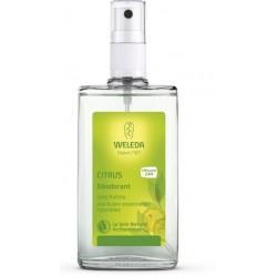 Weleda Déodorant au Citrus vaporisateur 100 ml