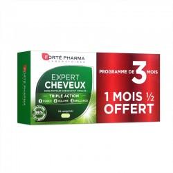 Forté Pharma Expert cheveux Triple action Programme 3 mois