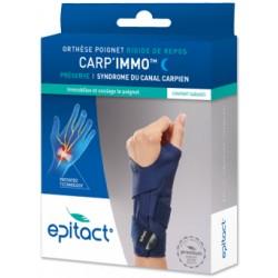 Epitact Carp'Immo Orthèse poignet rigide main gauche Taille L