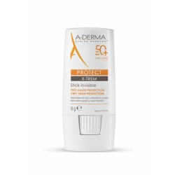 A-Derma Protect X-Trem Stick invisible SPF50+ 8 g