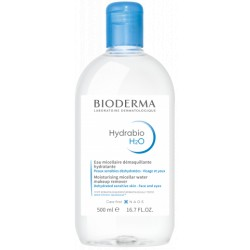 Bioderma Hydrabio H2O solution micellaire démaquillante 500 ml