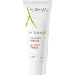 A-Derma Hydralba Crème Hydratante 24h Riche 40 ml