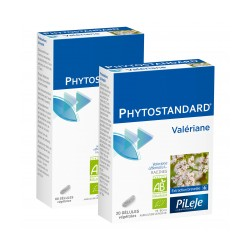 Pileje Phytostandard Valériane 20 gélules végétales