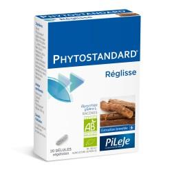 Pileje Phytostandard Réglisse 20 gélules végétales