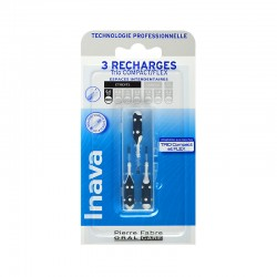 Inava Recharge 3 brossettes interdentaires 0.6 mm TRIO COMPACT - FLEX