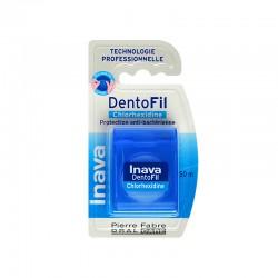 Inava Dentofil fil dentaire à la chlorhexidine - 50 m