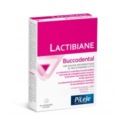 Pileje Lactibiane Buccodental 30 comprimés à sucer
