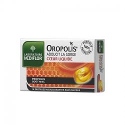 Médiflor Oropolis Coeur Liquide Propolis 16 Pastilles