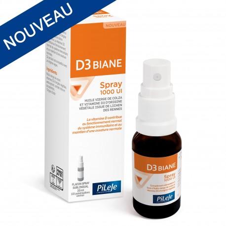 Pileje D3 Biane 1000 UI flacon spray de 20 ml