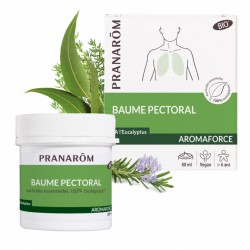 Pranarôm Aromaforce Bio baume pectoral 80 ml