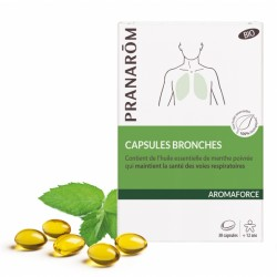 Pranarôm Aromaforce Bio 30 capsules bronches