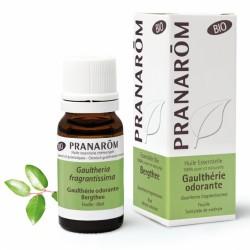 Pranarôm Huile Essentielle Bio Gaulthérie Odorante 10 ml